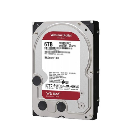WD WD60EFAX 6TB Red 3.5inch 256MB 5400Rpm Sata3