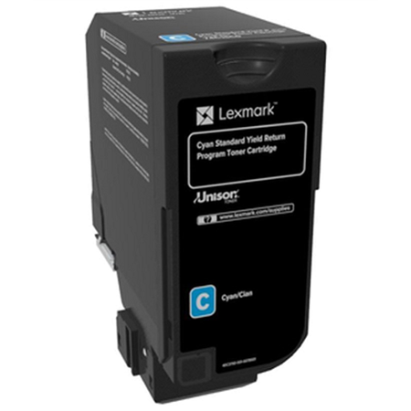 Lexmark 74C5SC0 - Lexmark CS720, CS725, CX725 Orjinal Mavi Toner