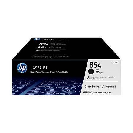 HP CE285AF 85A TONER - HP Laserjet P1102 - M1132 - M1212 - M1217FN Orjinal Toner 2Li Paket
