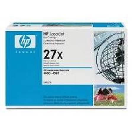 HP C4127X Black Toner Kartuþ (27X)