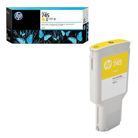 HP F9K02A 745 300Ml Yellow (Sarý) Orjinal Kartuþ