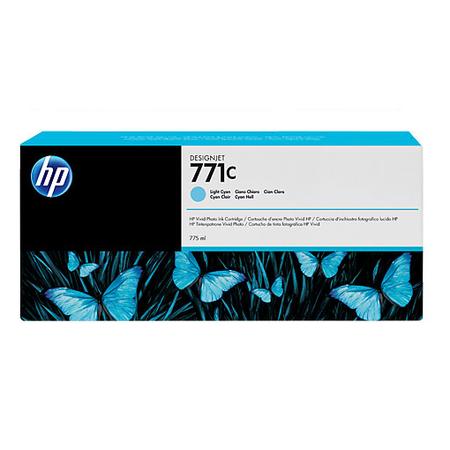 HP 771C 775 ml Açýk Camgöbeði DesignJet Mürekkep Kartuþu