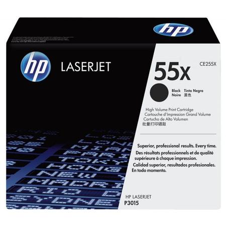 HP 55X CE255X - Laserjet P3015 - M521 - M525 Orjinal Toner