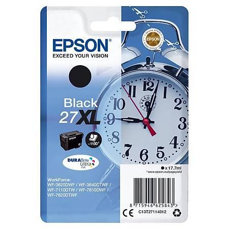 EPSON 27XL BLACK T27114 DURABrite Ultra Ink