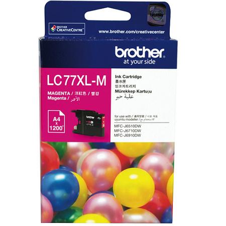 Brother LC77XL-M Orjinal Magenta Kartuþ