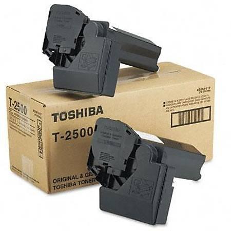 Toshiba T-2500 Toner - Toshiba E-Studio 20/25/200/250 Toner 2'Li Paket