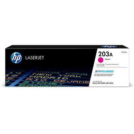 HP CF543A 203A ORJİNAL MAGENTA TONER