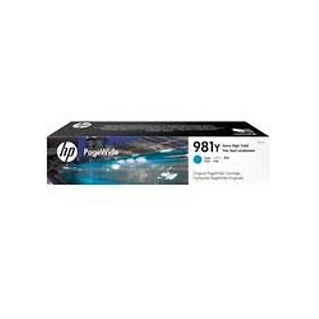HP 981Y Extra Yüksek Kapasiteli Camgöbeði Orijinal PageWide Kartuþ