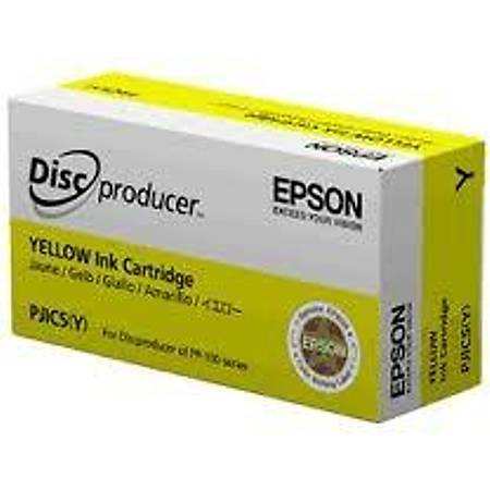 Epson Discproducer Ink Cartridge Yellow