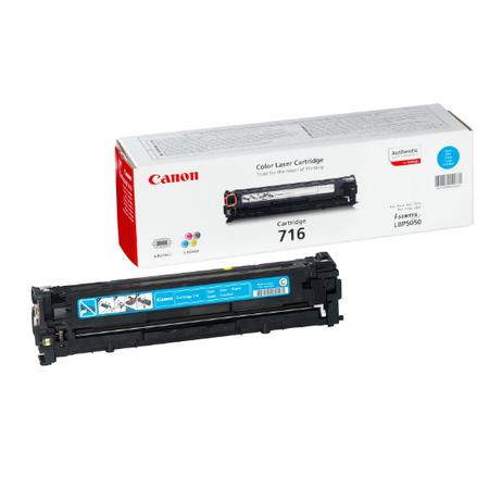 Canon 716C Mavi Toner - Canon I-SENSYS LBP5050 - MF8030 - MF8040 - MF8050 - MF8080 Orjinal Mavi Toner