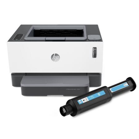 HP Neverstop Lazer 1000a Yazýcý Dolum Tonerli (4RY22A)