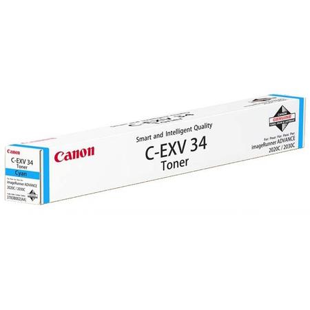 CANON C-EXV34C MAVI TONER - CANON IR C2020 - C2025 - C2030 - C2220 - C2225 - C2230 MAVI FOTOKOPI TONERI