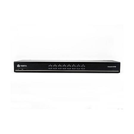 8-port rackmount or desktop single-user