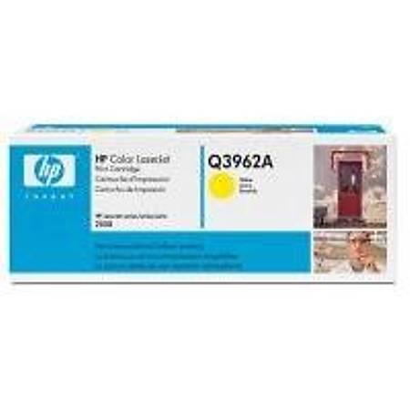 HP Q3962A Yellow Toner Kartuþ (122A)