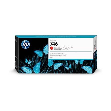 HP P2V81A 746 Orjinal Chromatic Red Kartuþ 300ML