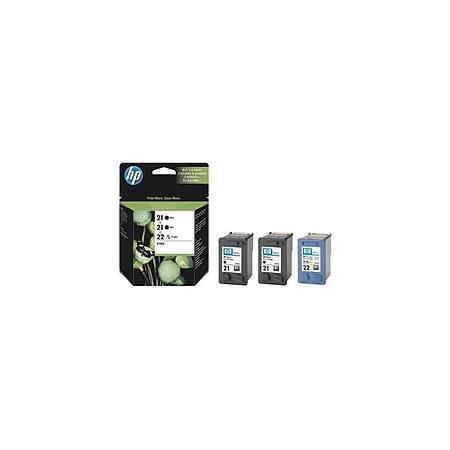 HP SD400AE Black/CMY Mürekkep Kartuş (21+22)