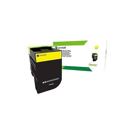 Lexmark 708HYE Yellow High Yield Toner 3K