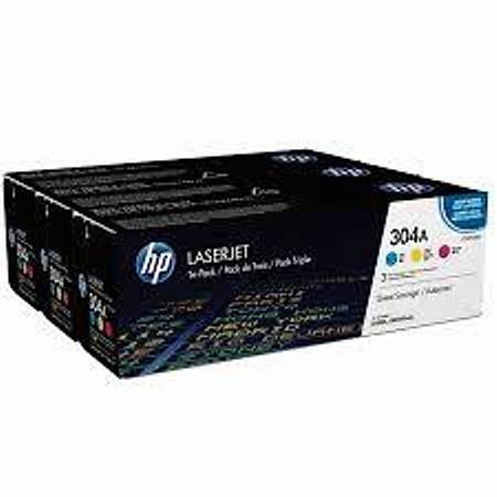 HP CF372AM CMY Toner Kartuþ (304A)