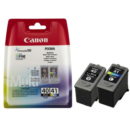 Canon Pg-40 - Cl-41 Multipack Orjinal 2Li Paket Siyah/Renkli