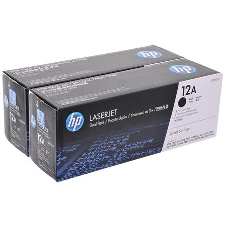 HP Q2612AF 12A ORJÝNAL TONER 2LÝ PAKET