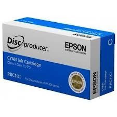 Epson Discproducer Ink Cartridge Cyan