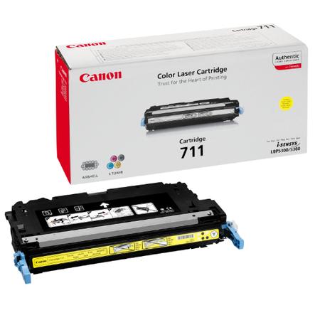 Canon 711Y Toner - Canon I-SENSYS MF9220 - MF9170 - MF9280 - MF9130 - MF8450 - LBP5300 - LBP5360 Orjinal Sarý Toner