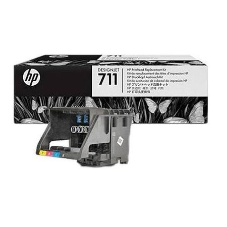 HP 711 C1Q10A KAFA - HP Designjet T120 - T520 Orjinal Baský Kafasý Seti