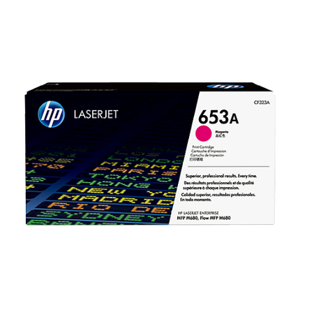 HP 653A CF323A - Color LaserJet M680 Orjinal Magenta Toner