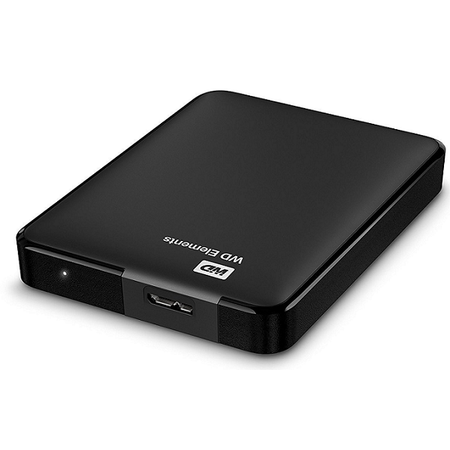 WD WDBU6Y0040BBK-WESN ELEMENTS PORTABLE 4TB BLACK 2.5inch Disk
