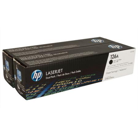 HP CE310AD TONER - Hp CP1025 - CP1025NW - M175A - M175NW - M275NW Orjinal Siyah Toner 2Li Paket