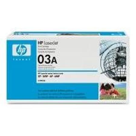 HP C3903A Black Toner Kartuþ (03A)