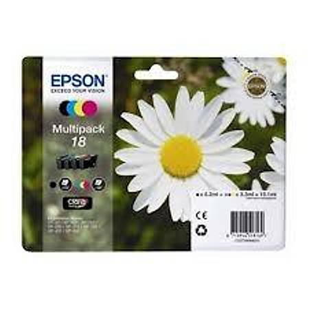 Epson T18064020  XP202-205 (18) 4'lü Set Kartuþ
