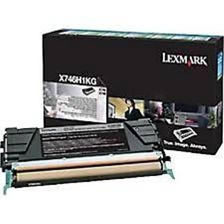 Lexmark X746H1KG Siyah Yüksek Verimli Toner Kartuþ