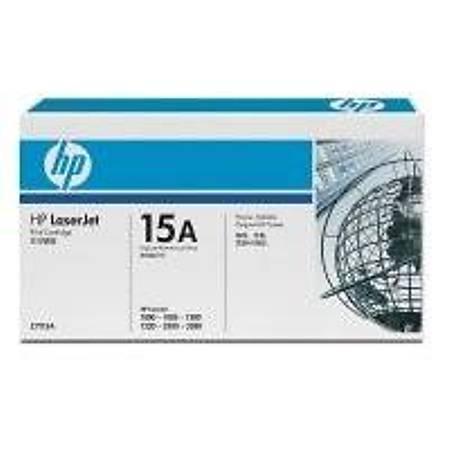 HP C7115A Black Toner Kartuþ (15A)