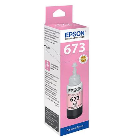 EPSON 673 T6736 ORJÝNAL LIGHT MAGENTA MÜREKKEP