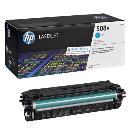 HP 508A CF361A - LaserJet Enterprise M552 - M553 - M577 Orjinal Mavi Toner