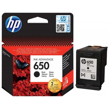 HP 650 SİYAH KARTUŞ. - HP 650 CZ101AE ORJINAL SİYAH KARTUŞ