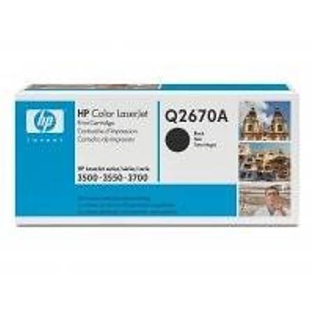 HP Q2670A Black Toner Kartuþ