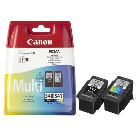 Canon PG-540 - CL-541 Multipack Orjinal 2Li Paket Siyah/Renkli