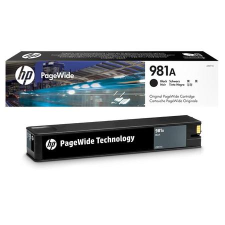 HP 981A J3M71A Siyah Kartuþ - HP PageWide 556 - MFP 586 Orjinal Siyah Kartuþ