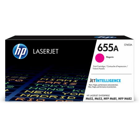 HP 655A CF453A TONER - Hp Laserjet M652 - M653 - MFP M681 - MFP M682 Orjinal Magenta Toner