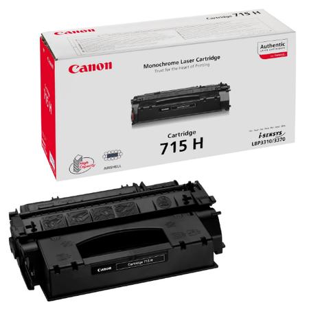 Canon 715H Toner - Canon I-SENSYS LBP3310 - LBP3370 - LBP3311 Orjinal Toner Yuk.Kapasite