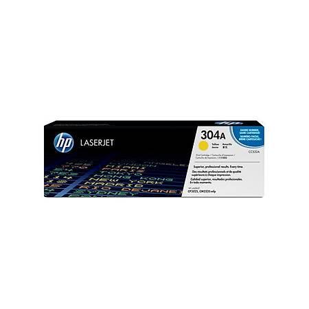 HP CC532A Yellow Toner Kartuş (304A)
