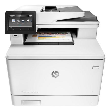 HP CF377A Color LaserJet Pro M477fnw Yazýcý - Fotokopi - Tarayýcý - Faks