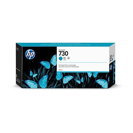HP P2V68A 730 300ML Orjinal Mavi Kartuþ
