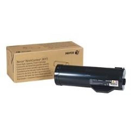 Xerox WorkCentre 3655 Extra Yüksek Kapasite Black Toner (106R02741)