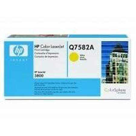 HP Q7582A Yellow Toner Kartuþ (503A)