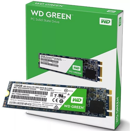 WD WDS120G2G0B Green 120Gb Ssd Disk