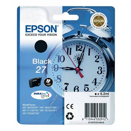 EPSON 27 XL Orjinal Siyah Kartuþ - C13T27114020