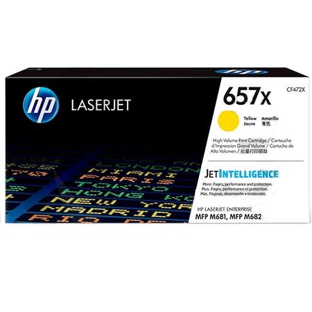 HP 657X CF472X TONER - Hp Color LaserJet MFP M681 - M682 Orjinal Sarý Toner